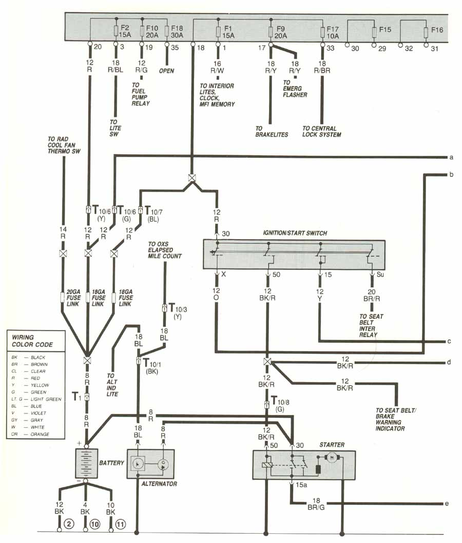 wiper motor relay